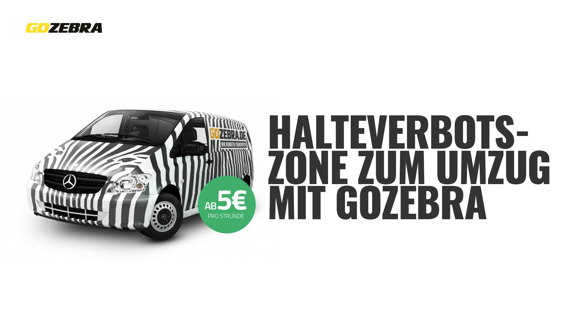 halteverbotszone transporter mieten bei gozebra. Black Bedroom Furniture Sets. Home Design Ideas