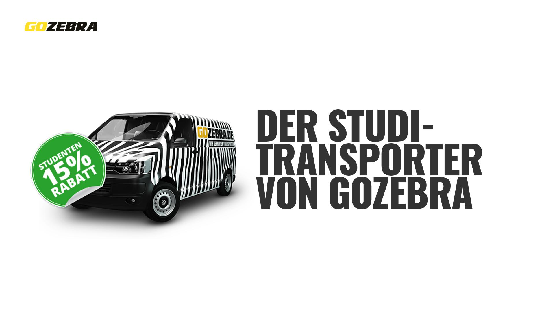 studitransporter transporter mieten bei gozebra. Black Bedroom Furniture Sets. Home Design Ideas