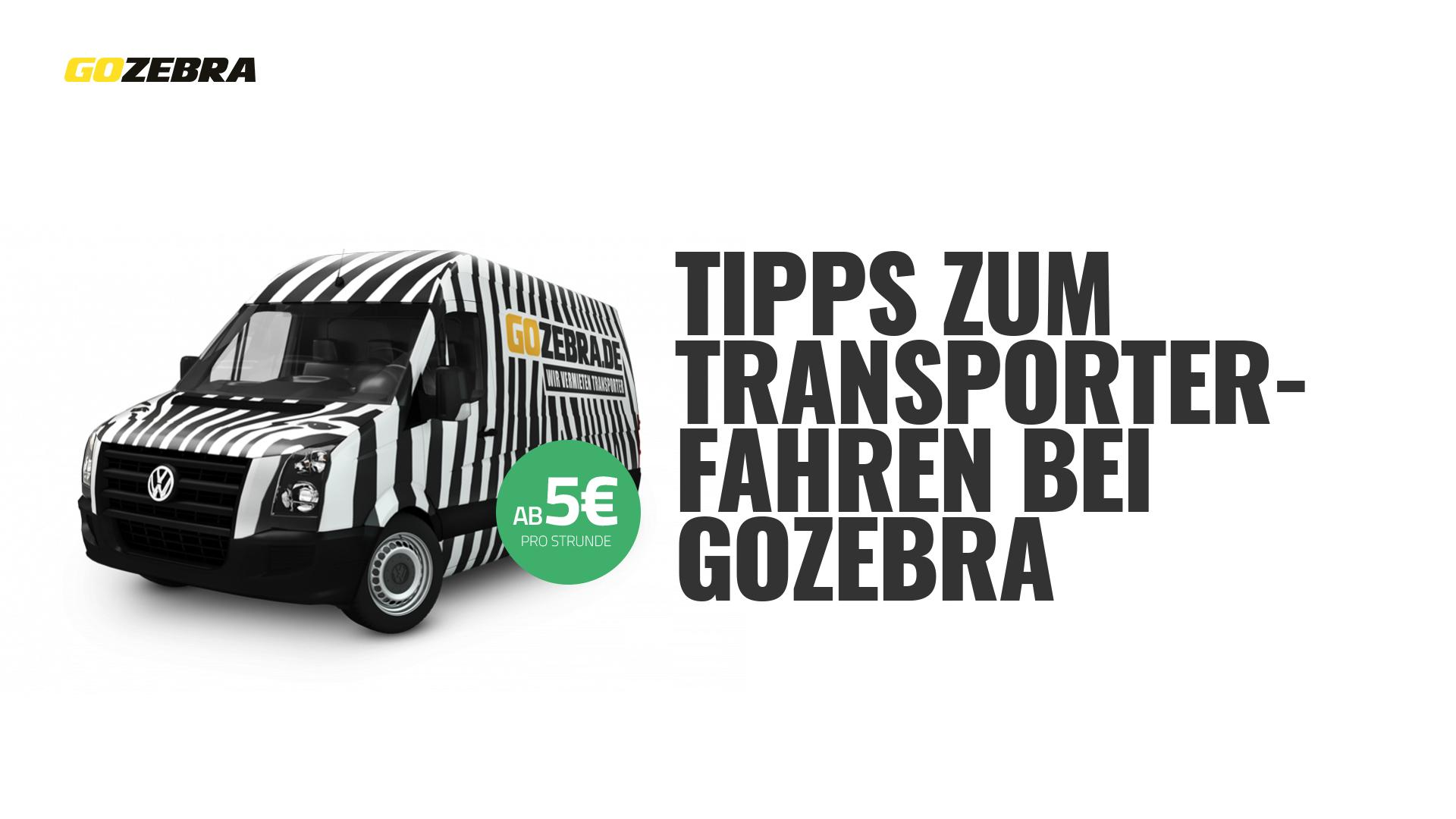 transporter fahr tipps transporter mieten bei gozebra. Black Bedroom Furniture Sets. Home Design Ideas