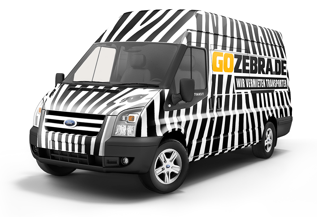 ford transit 350 el frontansicht transporter mieten g nstig ohne kaution gozebra de. Black Bedroom Furniture Sets. Home Design Ideas